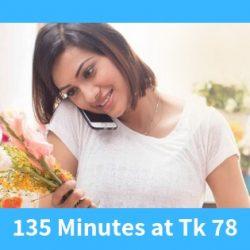 GP 135 Minutes at Tk 78