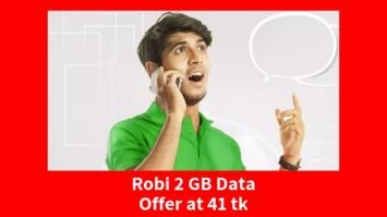 Review - Robi 2 GB Data Offer at 41 tk
