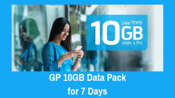 GP 10GB Data Pack for 7 Days