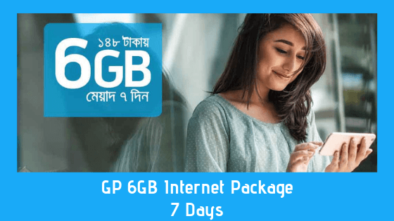 GP 6GB Internet Package - 7 Days