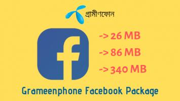 Grameenphone Facebook Package