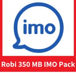 Robi 350 MB IMO Pack