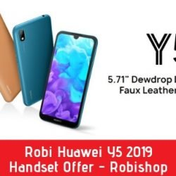 Robi Huawei Y5 2019 Handset Offer - Robishop