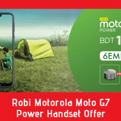 Robi Motorola Moto G7 Power Handset Offer