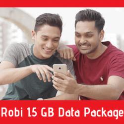 Robi 1.5 GB Data Package - Internet Festival Offer