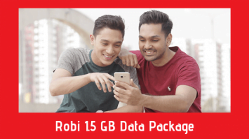Robi 1.5 GB Data Package - Internet Festival Offer
