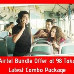 Airtel Bundle Offer at 98 Taka - Latest Combo Package