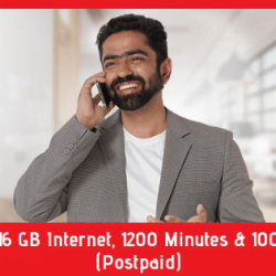 Robi 16 GB Internet, 1200 Minutes & 100 SMS (Postpaid)