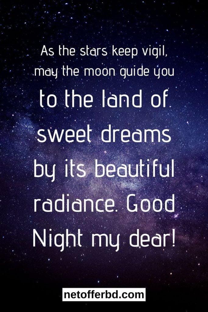 Good Night Wish Image