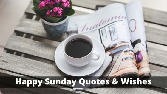 Happy Sunday Quotes & Wishes