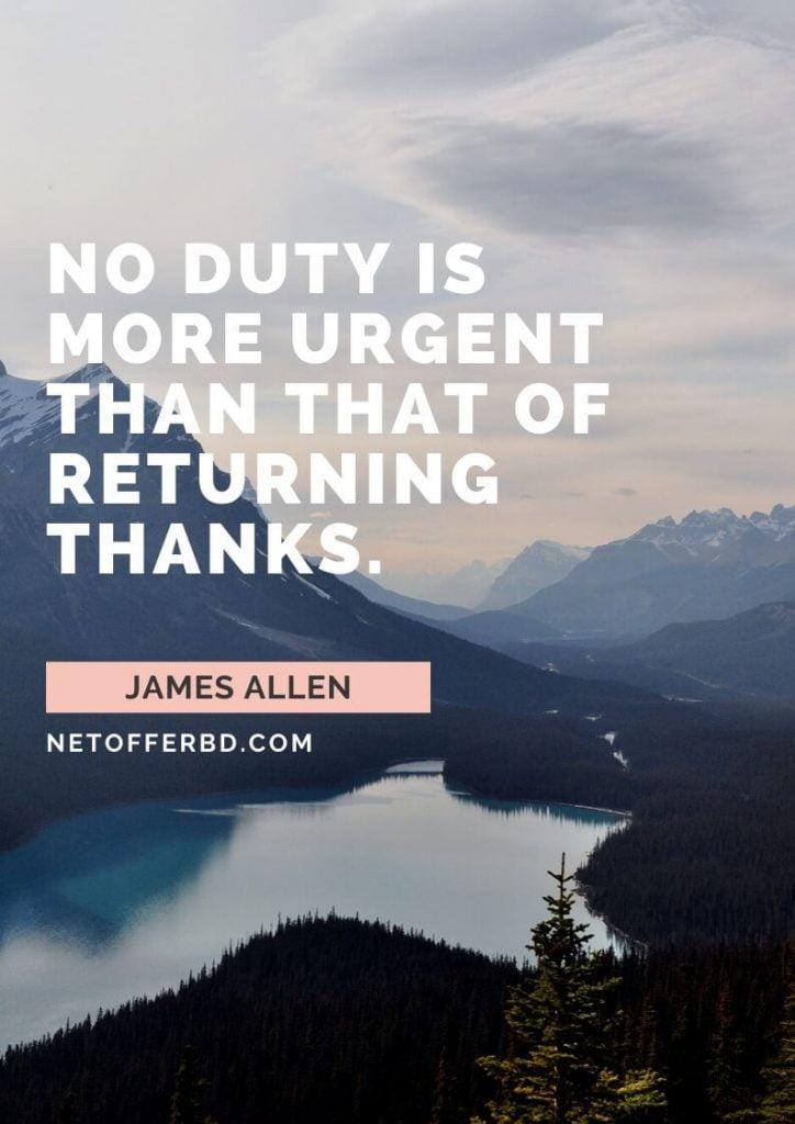 Thankfulness Quotation