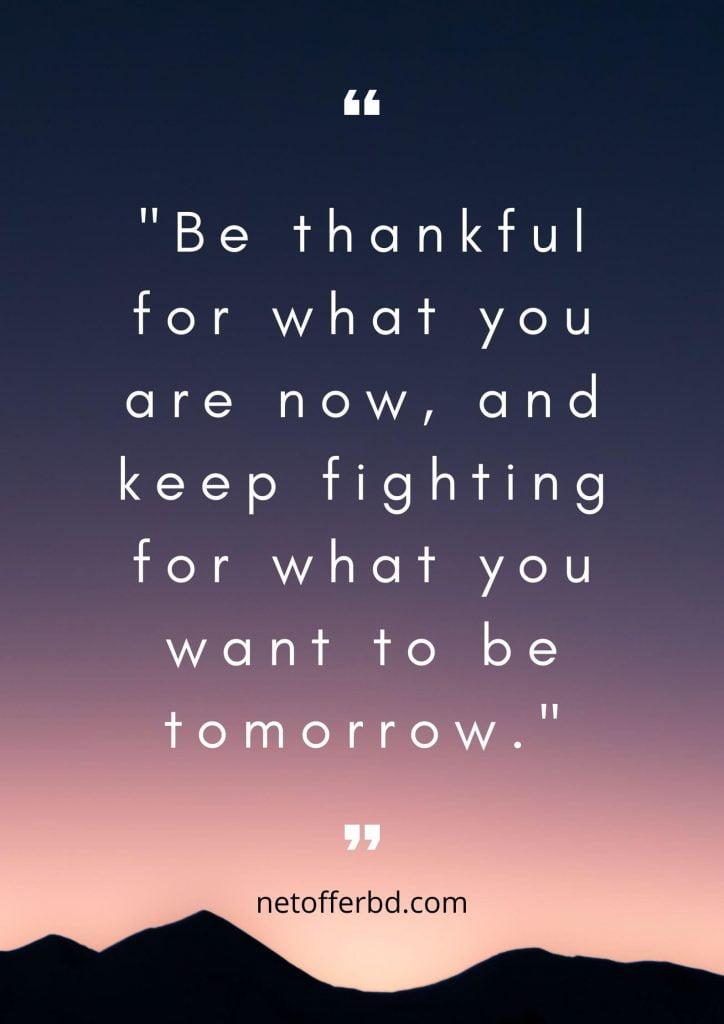 Thankfulness Saying Image