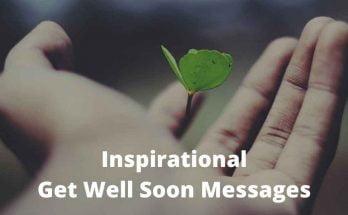 Inspirational Get Well Soon Messages
